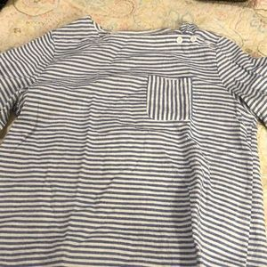 Blue and white Sailor top